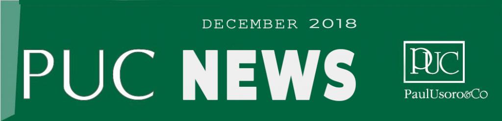 PUC NEWS, December 2018