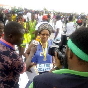 Mfon Usoro Access bank Marathon