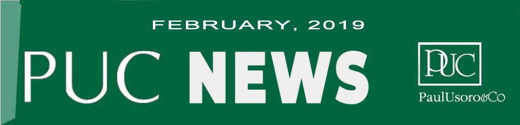 PUC NEWS, FEBRUARY