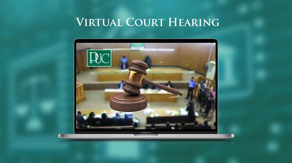 PUC Virtual Court Hearing